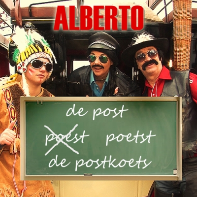Nieuwe Single Alberto : De post poets de Postkoets !